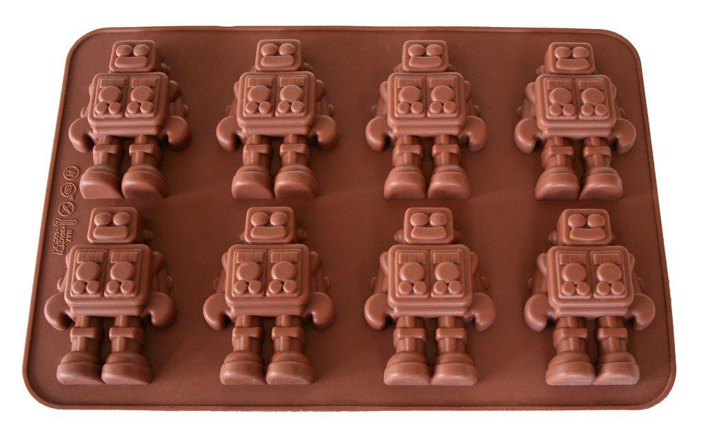 Chocoladerobotvorm door Bouf